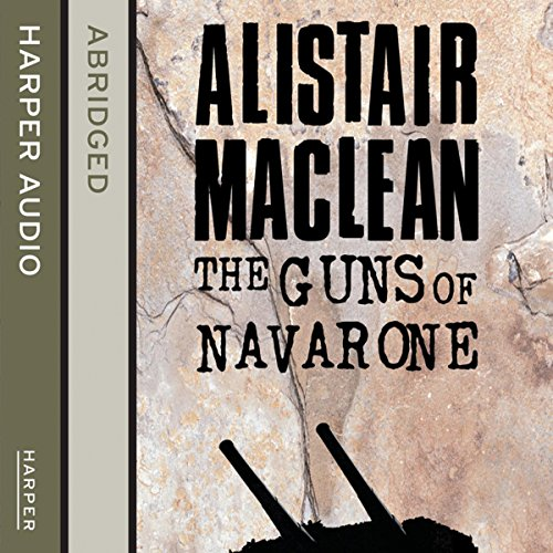 The Guns of Navarone audiobook cover art