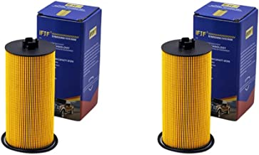 FL2016 Oil Filter for Ford F250 F350 E350 Excursion E350 Club Wagon E450 Engine Oil Filter FL2016 3C3Z6731AA Included O-rings for Housing and Cap (set of 2)