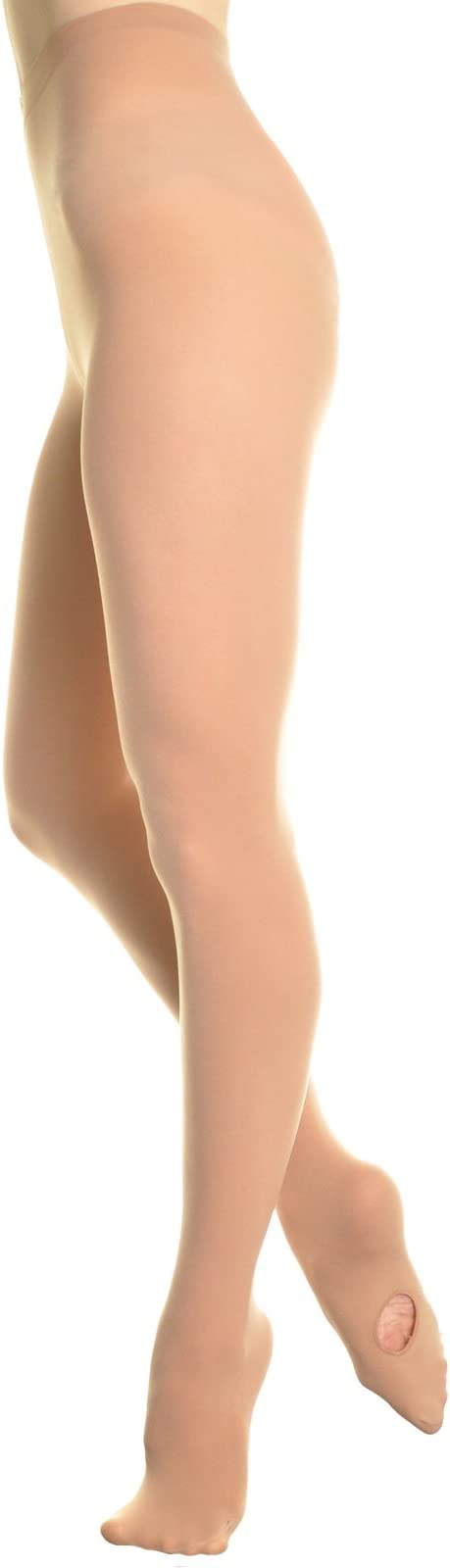 Angelina Professional-Grade Footed and Footless Ballet Tights