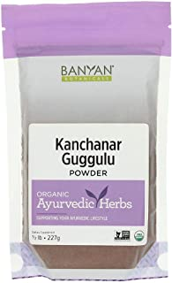 Banyan Botanicals Kanchanar Guggulu - USDA Organic 1/2 Pound- Energizing Ayurvedic Herbs for Thyroid & Lymphatic Wellness*