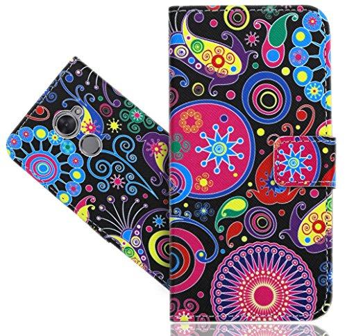 Vodafone Smart N8 Handy Tasche, FoneExpert® Wallet Hülle Vintage Cover Hüllen Etui Hülle Ledertasche Lederhülle Schutzhülle Für Vodafone Smart N8