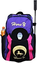 UNISTRENGH Professional Horse Riding Boot Bag Helmet Bag Parent-Child Equestrian Horse Riding Backpack with Hat Compartment