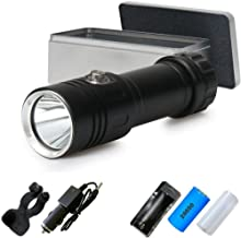 LED Flashlight 100M Underwater Flashlight lamp Diving Flashlight Rechargeable Waterproof 5000 lumens