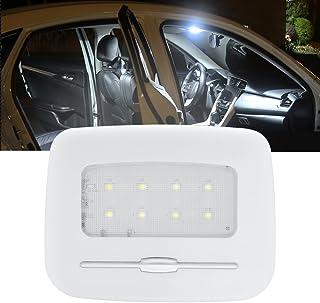 Luce di lettura per auto universale LED Lampada per illuminazione di tetto per interni Luce magnetica per auto a LED bianca