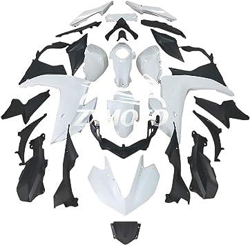 28Pcs ZXMT Motorcycle Fairing Kit Matte Black Fairings ABS Bodywork for YAMAHA YZF R3 2014-2018 R25 2015 2016 2017