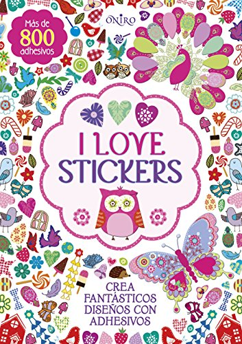 I love stickers (Libros de actividades)