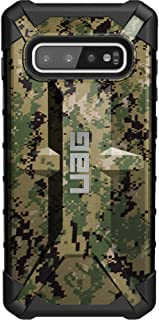 Navy Working Uniform Digital Camouflage Limited Edition Custom Laser-Printed Design by Ego Tactical on a Urban Armor Gear - UAG Case for Samsung Galaxy S10+ Plus