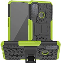 Lantier Hybrid Shockproof Impact Protection Tough Hard Rugged Heavy Duty Combo Dual Layer Protective Case with Kickstand f...