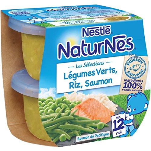 Nestlé 12237633 4 Petits Pots et Plaques pour Bébé 1600 g - Lot de 6
