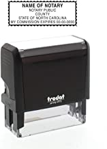 Self-Inking Custom Notary Public Stamp - North Carolina
