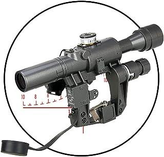 DOTXX Optic Rifle Scope 4X Eye Relief Scope for Gun Hunting Shooting