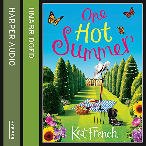 One Hot Summer audiobook cover art