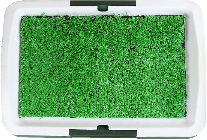 HeiPlaine Pet Sofa Pet Potty Puppy Toilet,puppy lawn Dog urine bedpan (color    1) (color    1)