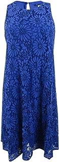 Womens Lace Sleeveless Party Dress