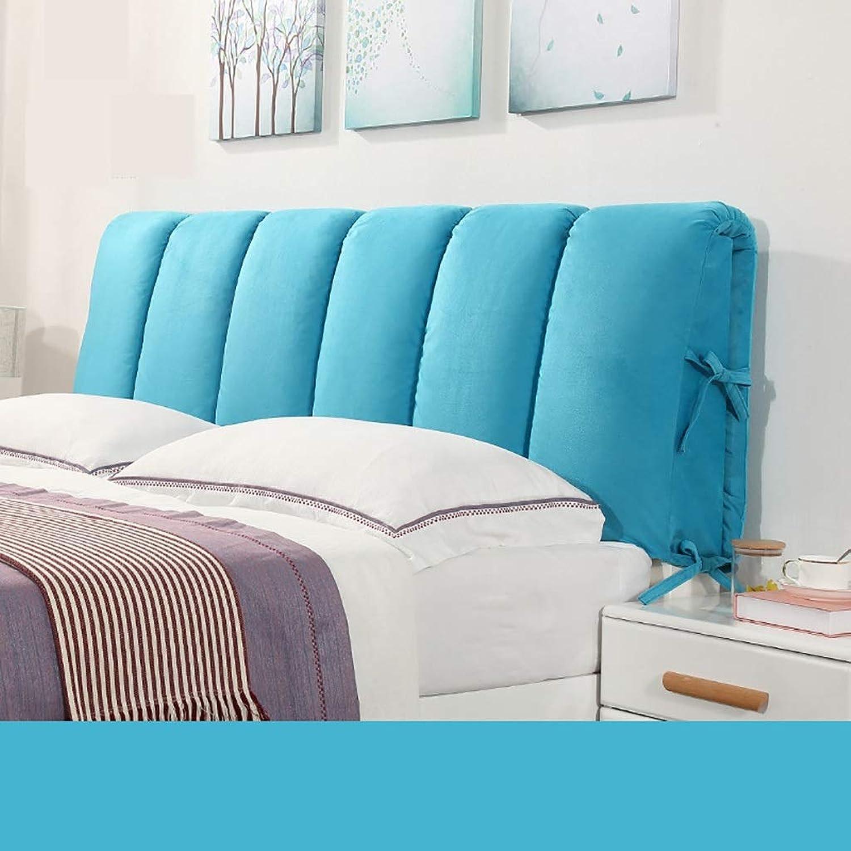 Ed3cu6 Oreillers de Lecture Coussin de tête de lit Coussin Lombaire Dossier lit Respirant Amovible Lavable Coussins (Couleur   C, Taille   200cm)