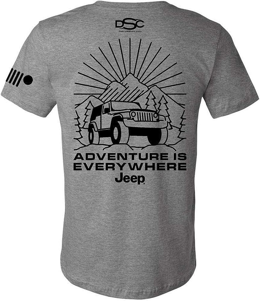 wholesale Detroit Shirt Company Mens Jeep - Everywhere Phoenix Mall Adventure T is Shir