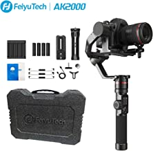 FeiyuTech Feiyu AK2000 DSLR Camera Gimbal 2800kg Payload 3-Axis Handheld Stabilizer with Tripod for Panasonic GH5 GH5S Sony A7 Canon 5D