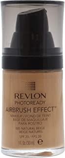 Revlon PhotoReady Airbrush Effect Foundation, 005 Natural Beige