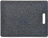 Planche à découper Zeller - En plastique, anthracite, ca. 36,5 x 27,5cm