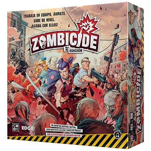 Edge Entertainment - Zombicide: Segunda Edición Juego de Mesa en Castellano (Asmodee CMZCD01ES)