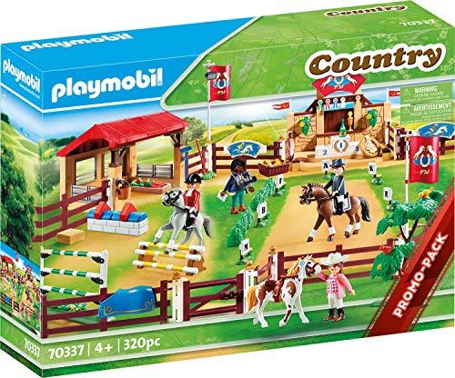 PLAYMOBIL Country Gran Torneo Ecuestre, a Partir de 4 años (70337)