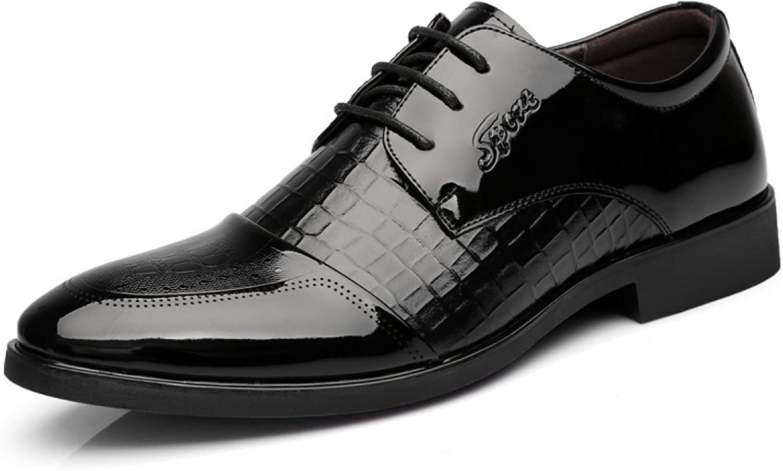 Dress shoes Men shoes Business Casual shoes Lace shoes Fashion Pointed Male Wedding shoes