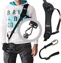 Ocim Camera Shoulder Strap with Quick Release & Safety Strap, Adjustable Camera Sling Straps for Nikon, Canon, Sony DSLR Camera