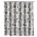 CXL Verdickter wasserdichter Duschvorhang, Duschvorhang aus Polyestergewebe, Trennvorhang für Badezimmer