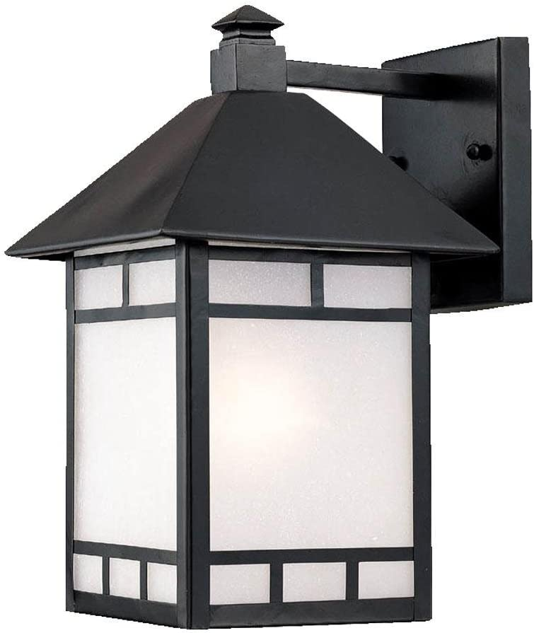 Acclaim 9022BK Artisan Collection Cheap bargain 1-Light Lig Mount Wall Outdoor 2021 spring and summer new