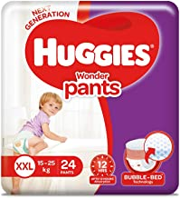 Huggies Wonder Pants Diapers, Double Extra Large (Pack of 24)