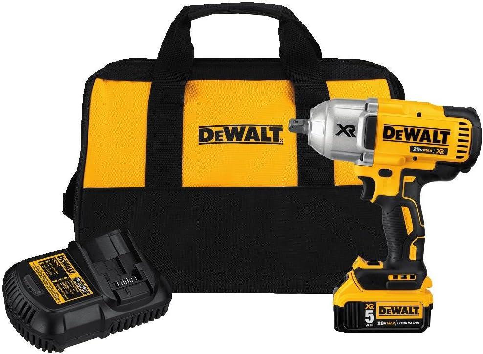 DeWalt DCF899P1 20V 1/2-Inch Impact Wrench Kit