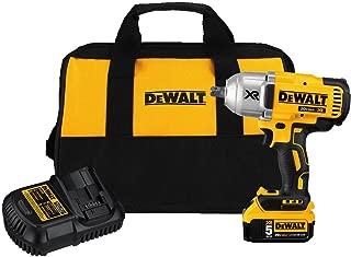 DEWALT 20V MAX XR Impact Wrench Kit, Brushless, High Torque, Detent Anvil, 1/2-Inch (DCF899P1)