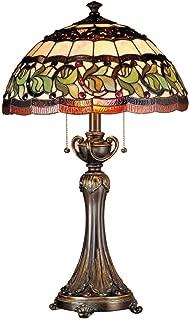 Dale Tiffany TT101110 Aldridge Table Lamp, Antique Bronze