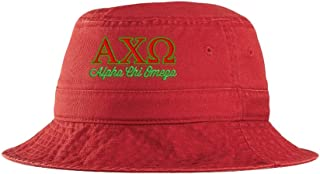 Women's Alpha Chi Omega Script Bucket Hat