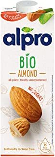 Alpro Drink Bio Almond Unsweetened - 1 liter (Pack of 1)