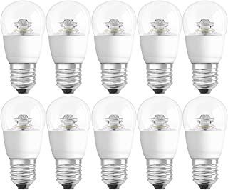 Osram LED Bulb E27 classic P 6W Dimmable 2700K Warm White - Clear (Pack Of 10)