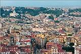 Poster 60 x 40 cm: Neapel am Abend von Editors Choice -