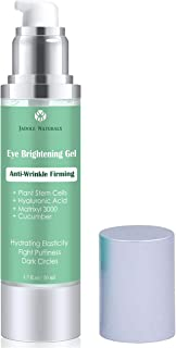 Eye Gel for Dark Circles, Puffiness, Wrinkles and Bags