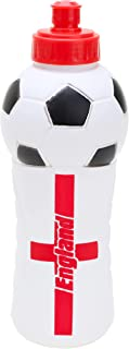 Toyland® England Design Football Water Bottle - Euro 2021 Supporters Drinks Cup - Size 650ml
