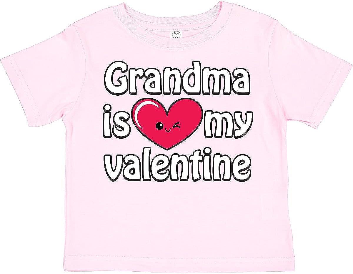 inktastic Grandma is My Valentine Toddler T-Shirt