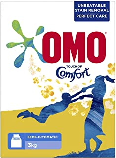 OMO Active Laundry Detergent Powder with Comfort, 3 Kg
