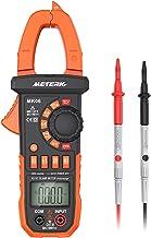 Meterk Digital Clamp Meter Multimeter 4000 Count Multimeters اتوماتیک با ولتاژ AC / DC و جریان، مقاومت، ظرفیت، فرکانس، دیود، تست Hz، غیر مستقیم ولتاژ تشخیص