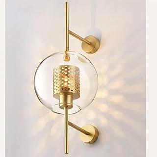 Sconce/Wall Sconces Modern Glass Ball Wall Light, Mid Century Wall Lamp Magic Bean Globe Wall Sconces for Restaurant Livin...