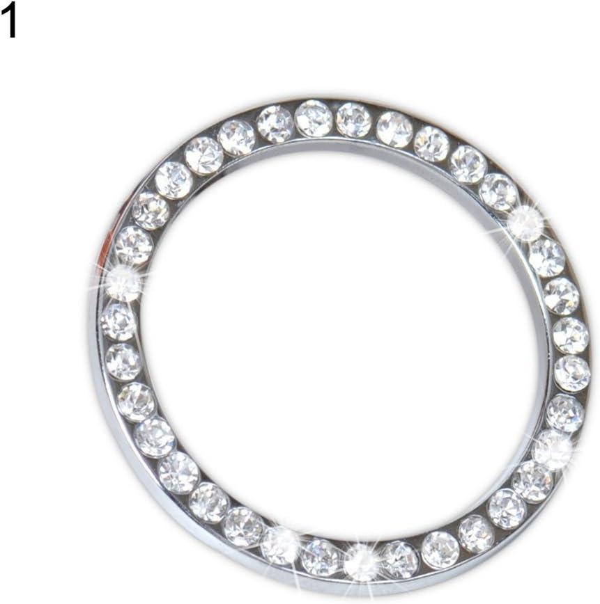 Super-cheap kaaka Car Decoration latest Ring Rhinestone Ornament Key R Ignition