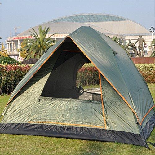 MONEYY Chapiteau Tente de Camping en Plein air à Deux étages Automatique Tente de Pluie 210 * 210 * 130cm,B