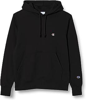 [チャンピオン] パーカー トレーナー 裏毛 長袖 綿100% 定番 ワンポイント刺繍フーデッドスウェットシャツ C3-Q101 メンズ