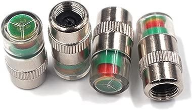 Free Ship Deal Car Tire Pressure Monitor Valve Stem Caps Sensor Indicator | Tri Color Alert Indicator Tire Valve Cap Gauge (4pcs)
