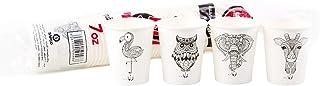 Lawinha Paper Cups 7 Oz without Handel, 50 Cups Per Bag