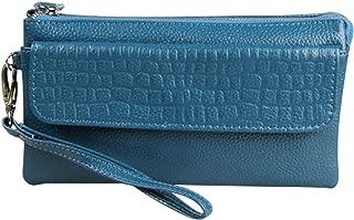 Wiwsi Fashion PU Leather Handbag Women Crossbody Bag Wristlet Clutch Purse Small