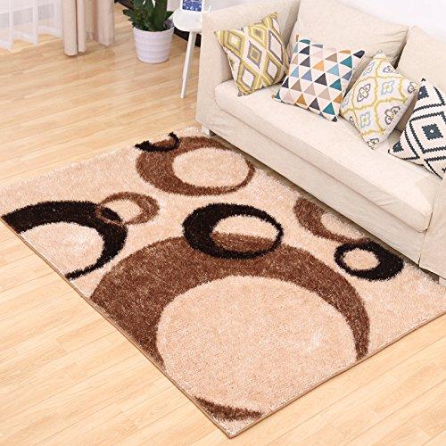 Rugai Ue Thick Stretch Silk Carpets In The Living Room Bedroom Carpets Rugs Mattress Color Circle 2x3m Buy Online In Aruba At Aruba Desertcart Com Productid 45322292